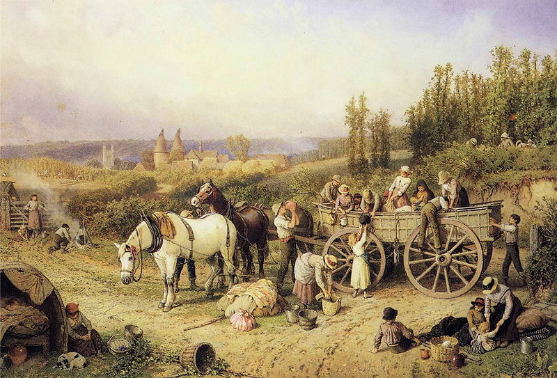 Myles_Birket_Foster_-_The_Farm_Cart.JPG
